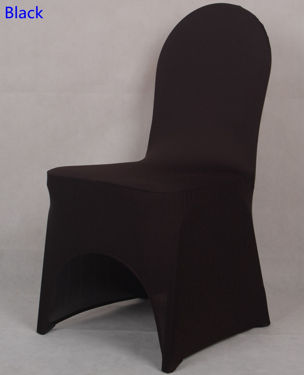 Swell Us 1 6 Colour Black Lycra Chair Cover For Wedding Decoration Banquet Spandex Chair Cover Wholesale Dinning Chairs Arch Front Open In Chair Cover Andrewgaddart Wooden Chair Designs For Living Room Andrewgaddartcom
