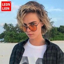 LeonLion 2019 Fashion New Men Sunglasses Vintage Metal Luxur