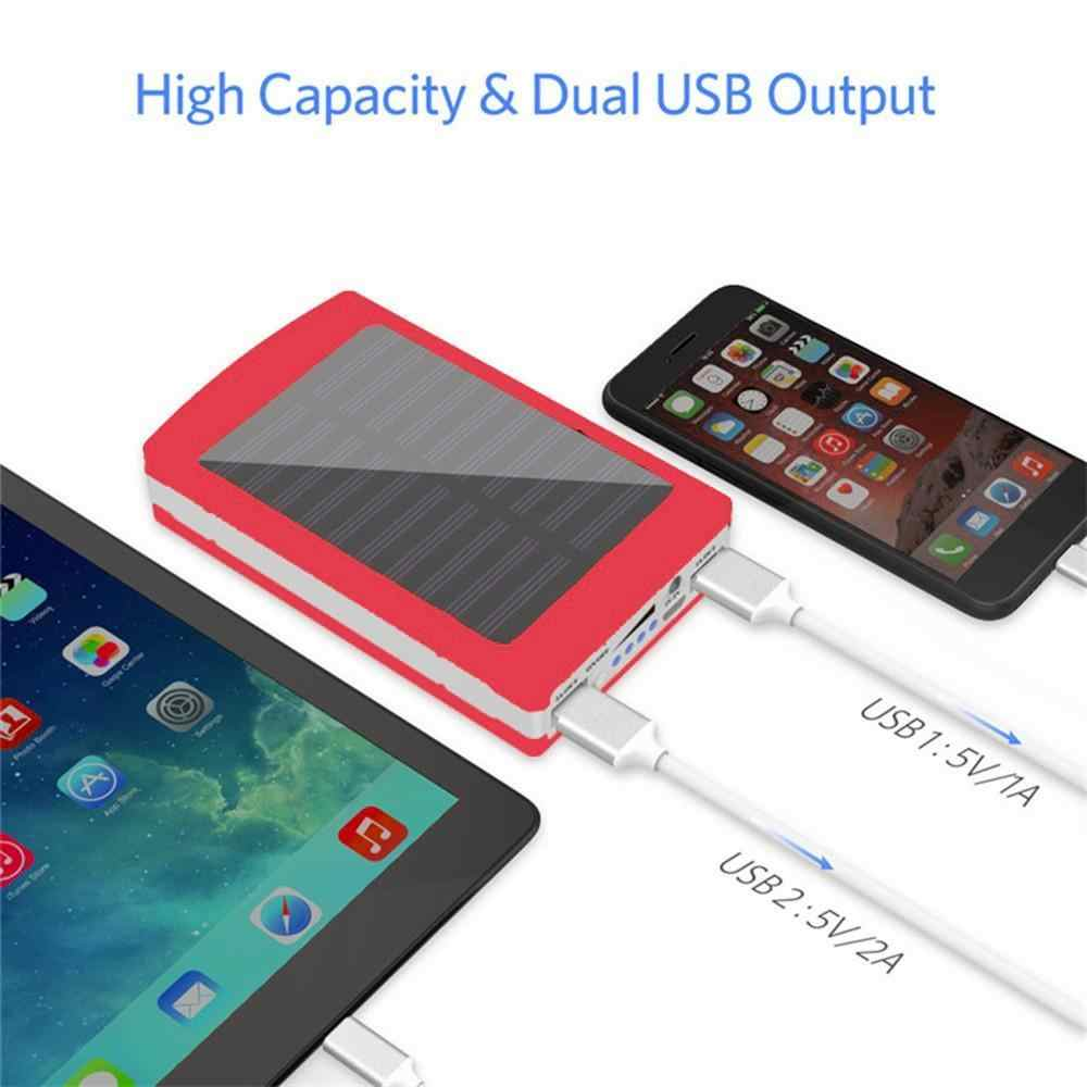Portable Dual USB Powder Bank Case 5x18650 External Battery Charger DIY Box portable charging for phone power bank Box
