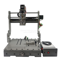 Low Price DIY LY 3040 3 Axis Mini Cnc Router DC Spindle 300W One Year Free