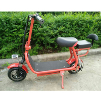 Electric bike electric motorcycle Citycoco electric scooter mini folding bike lithium battery 36V/10A 250W 35KM/H load 150KG
