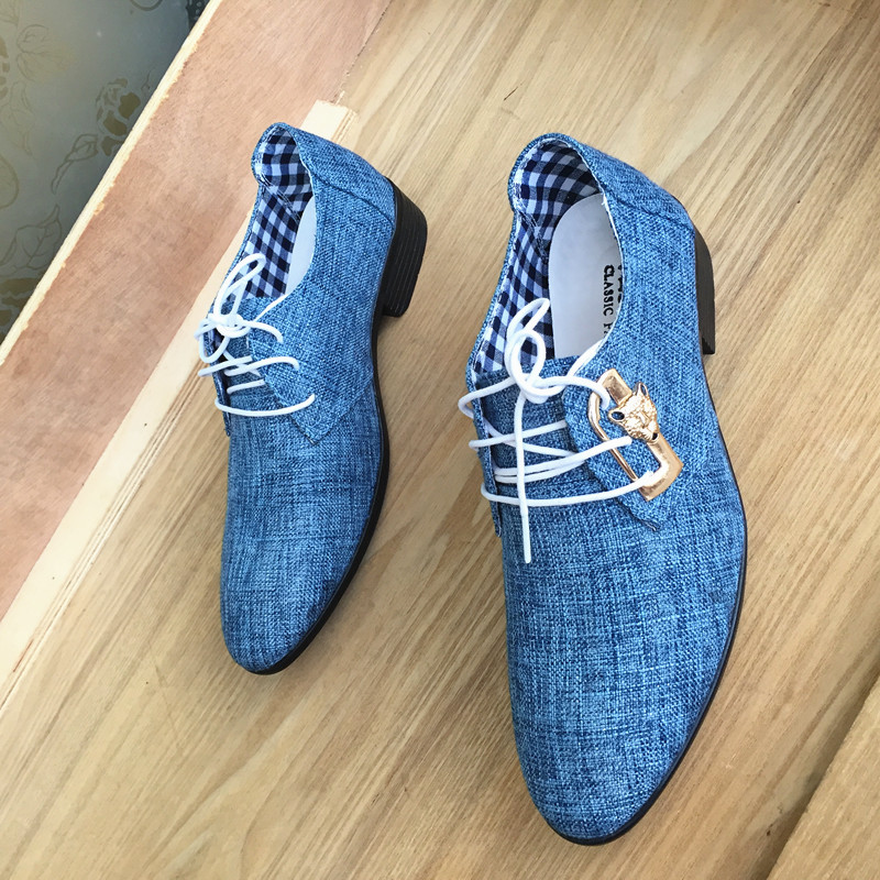 Mazefeng 2018 New Fashion Spring Autumn Men Casual Shoes Men Cavans Shoes Lace-up Pointed Toe Business Male British Style Shoes