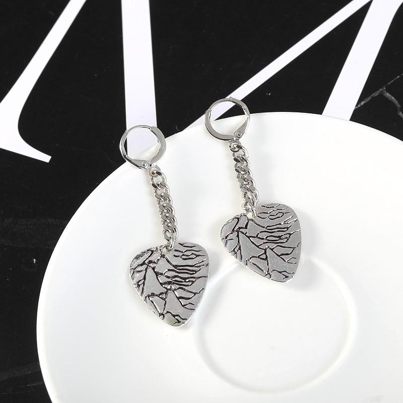 KPOP BTS Bangtan Boys Album Wings V Pick Stud Earrings K-pop Jewelry Accessories For Mens And Womens Earring