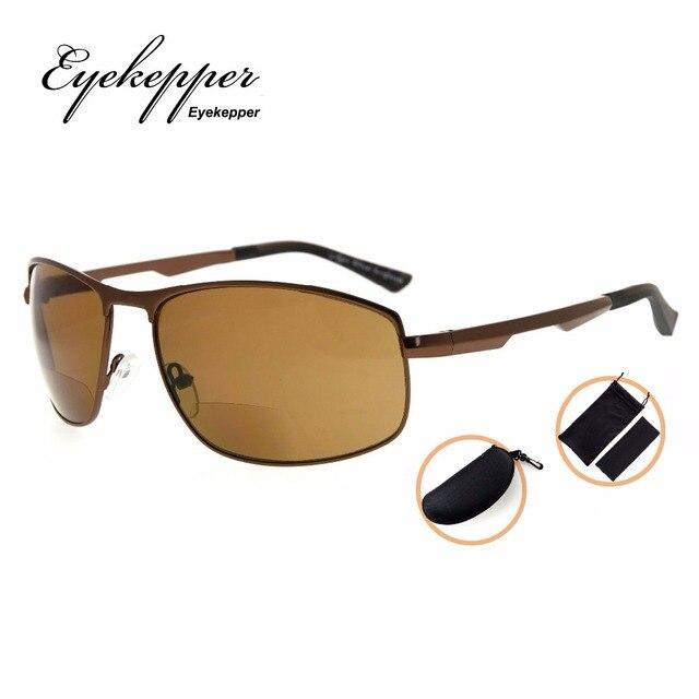 a51368f6c0 Gafas de sol bifocales polarizadas de policarbonato PGSG801 lectores de sol  bifocales al aire libre gafas