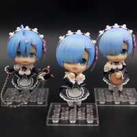 3 sztuk/partia śliczne 3 sztuk Re: zero kara Hajimeru Isekai Seikatsu Rem 3 sztuk zestaw zapakowane 10 cm pcv figurka model kolekcjonerski lalki 30 #12