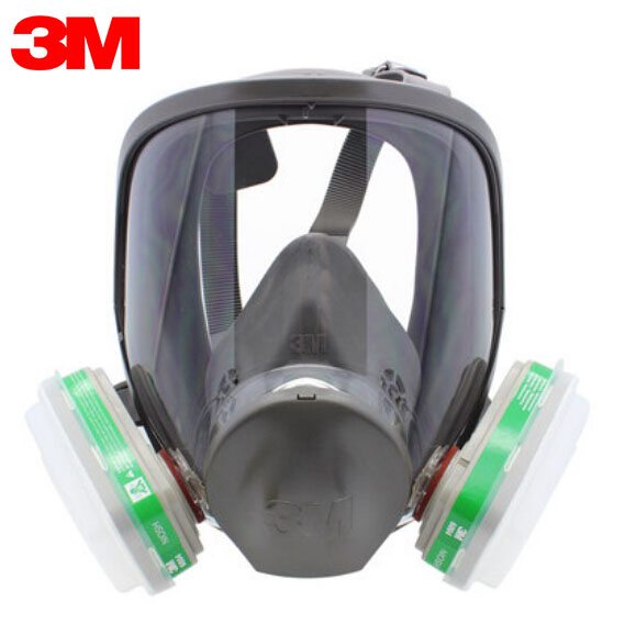 3M 6900+6004 Full Facepiece Reusable Respirator Mask Filter Protection Masks Anti-Ammonia NH3/ Methylamine/ CH3NH2 LT006 3m 6300 6003 half facepiece reusable respirator organic mask acid face mask organic vapor acid gas respirator lt091