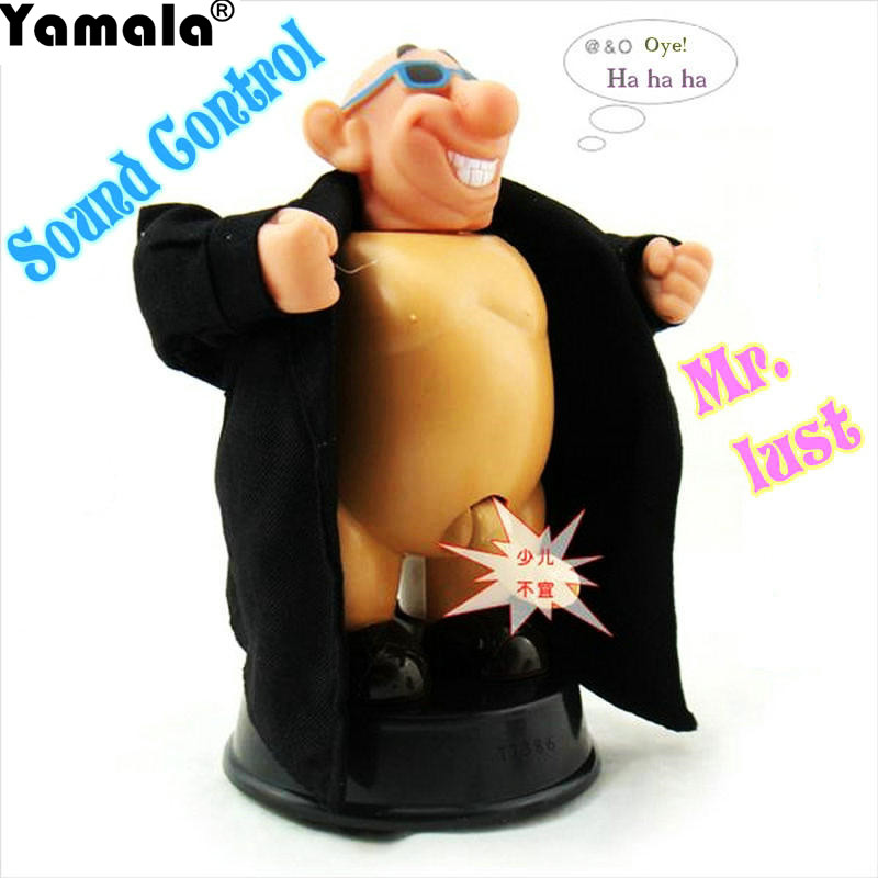[Yamala] GANGNAM STYLE VERY DIRTY WILLY Funny Tricky Toys Voice Control Dolls WATCH ME GROW for Birthday Gift New PSY Sexy Toy cool bloody knife tricky toys black grey