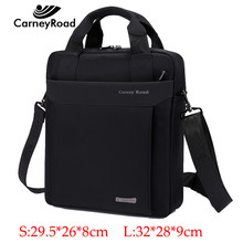 Carneyroad Handbag Men High Quality Waterproof Business Shoulder bags For Men Fashion Oxford Messenger Bags Ipad Crossbody bags(China)