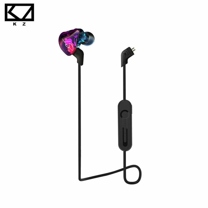 D'origine KZ Écouteurs Pour KZ ZST ZS3 ZS5 ED12 ZS6 Bluetooth 4.2 Sans Fil Mise À Niveau Module Câble 2Pin 85 CM Amovible Cordon s'applique