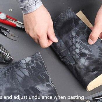 30*150 centimetri Tactical Belt Multi-funzione Elastico Camouflage Self-Nastro adesivo FAI DA TE Decalcomanie Elastico Paster Viscoso gear Multicam