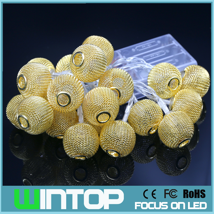 Metal Ball String Lights : Popular Lighted Christmas Boxes-Buy Cheap Lighted Christmas Boxes lots from China Lighted ...