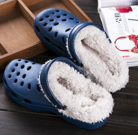 Men's Winter Clog Slippers with Plus Beach Garden Shoes Lazy Shoes Mans Clog Sandal hnm89 dansko women s tandy clog
