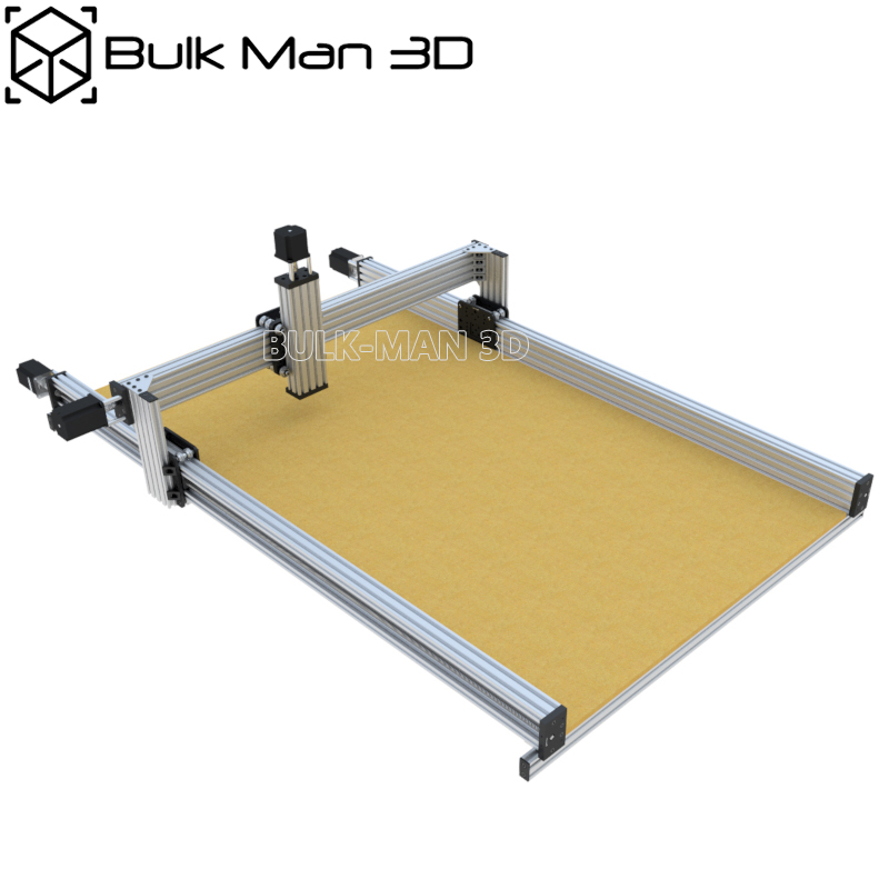 40 X 40 Inch 4 Axis Lead CNC Machine Mechanical Kit Professional Wood Router Set With High-Torque 2.45N.m Nema23 Stepper Motors