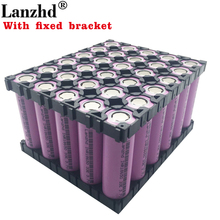8-30PCS 18650 Batteries 3.7V Li ion 3300mAh 30A 18650VTC7 INR18650 battery with fixed bracket Holder and Splicing Bracket