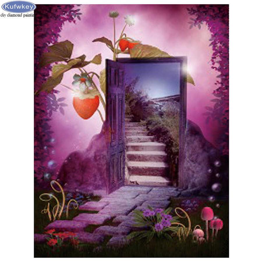 Гифка дверь в другой мир доброжелательный