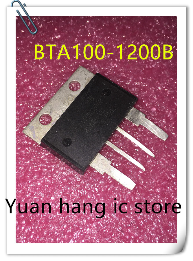 5pcs/lot BTA100-1200B BTA1001200B 1200V 100A TOP4 New Original StocK