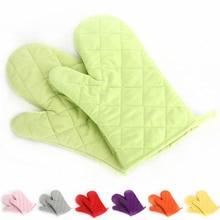 Перчатки для микроволновой печи изолированные кухонные перчатки для выпечки хлопковые термостойкие 1 шт. Нескользящие рукавицы