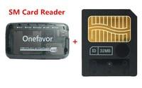 New!!! 64MB Smart media card smartmedia SM memory card 64M+ SM Memory Card Reader