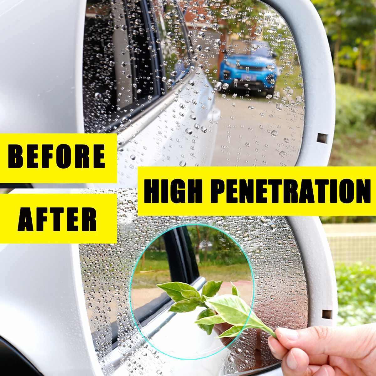 1х автомобильный мотоцикл заднего вида HD противотуманная непромокаемая Пылезащитная Водонепроницаемая зеркальная защитная пленка для домашних животных прозрачная наклейка