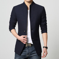 2017 Sale Costume Homme Measure Men Suit Jackets Single breasted High Quality Coat Blazers