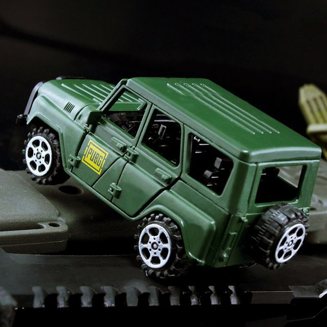 9998676a9 € 10.16 |Juego PUBG todoterreno Jeep Cosplay disfraces accesorios  Playerunknown Battlefield aleación Jeep modelo de coche juguete  coleccionable en ...
