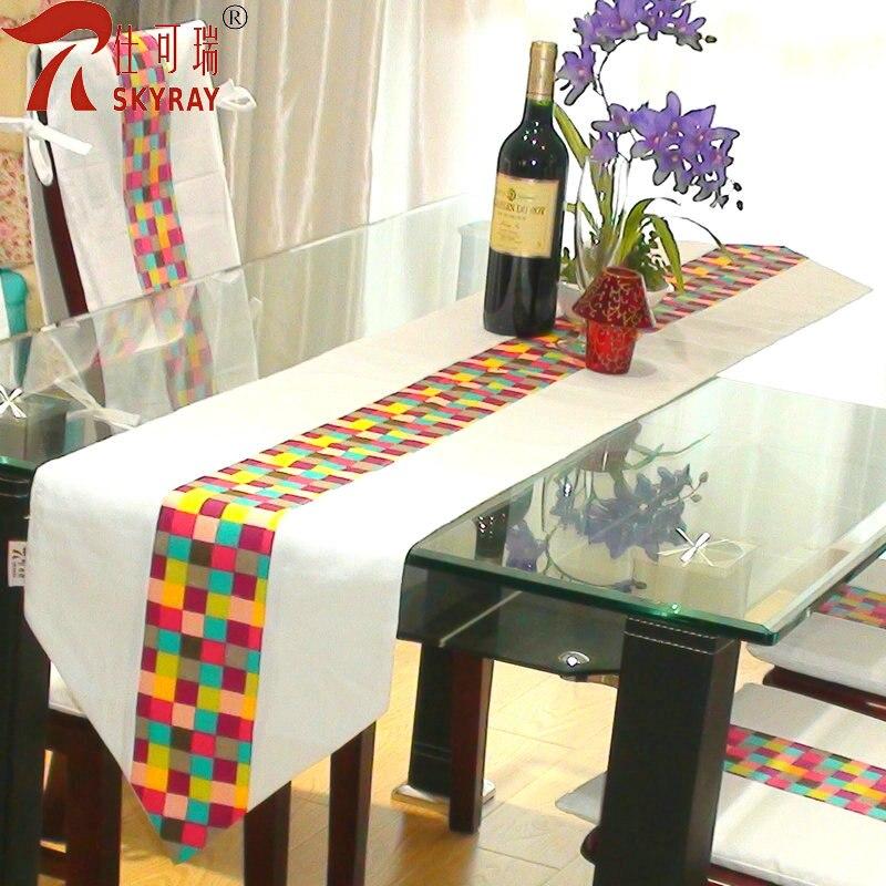 Mosaico Kerui moda camino de mesa breve modernas comedor camino de ...