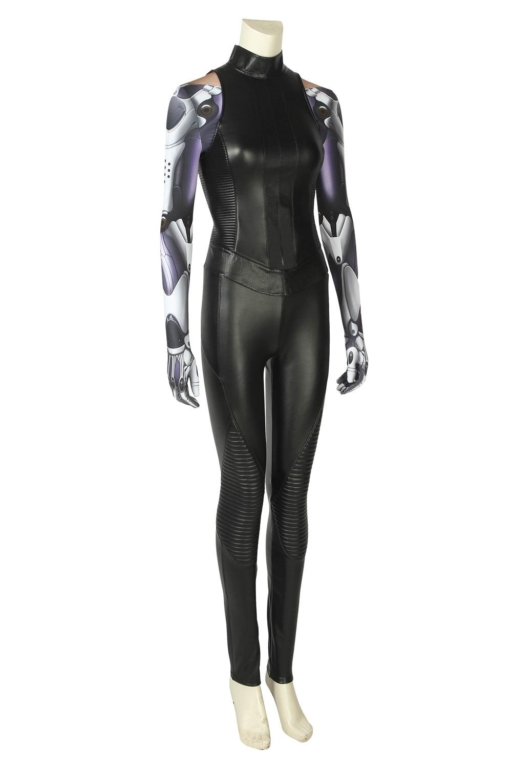 Battle Angel Women One Set Spandex Jumpsuit Tight Suit Cosplay Costume Alita