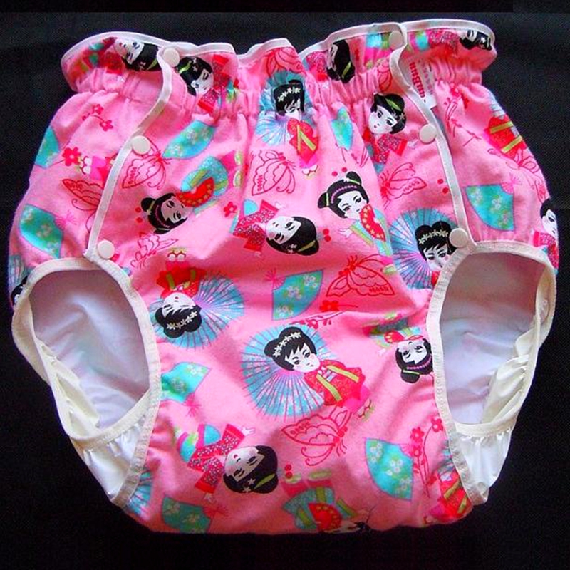 Free Shipping FUUBUU2215-081-L  Adult Baby Diaper Adult Baby Plastic Pants For Babies Pants Adult Baby Onesie Abdl