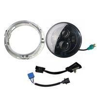 7 LED Projector Headlight Mounting Bracket Ring For Harley Davidson Touring Bike