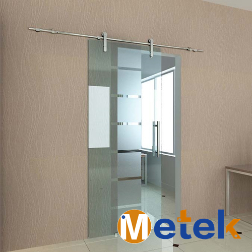 Stainless steel glass barn sliding door hardware track 2pcs set stainless steel 90 degree self closing cabinet closet door hinges home roomfurniture hardware accessories supply