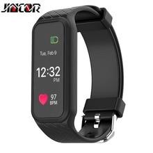 Jincor L38I Smart Монитор сердечного ритма Спорт Bluetooth браслет здоровья вызовов для управления предупреждающее сообщение Smart Водонепроницаемый браслет