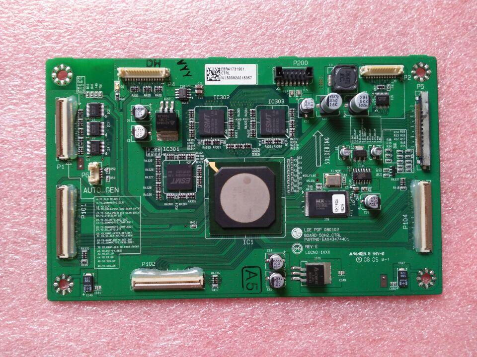 EAX43474702 EBR41731901 EAX43474401 Good Working Tested 50h2 ctrl eax43474401 ebr41731901 logic board printer t con connect board