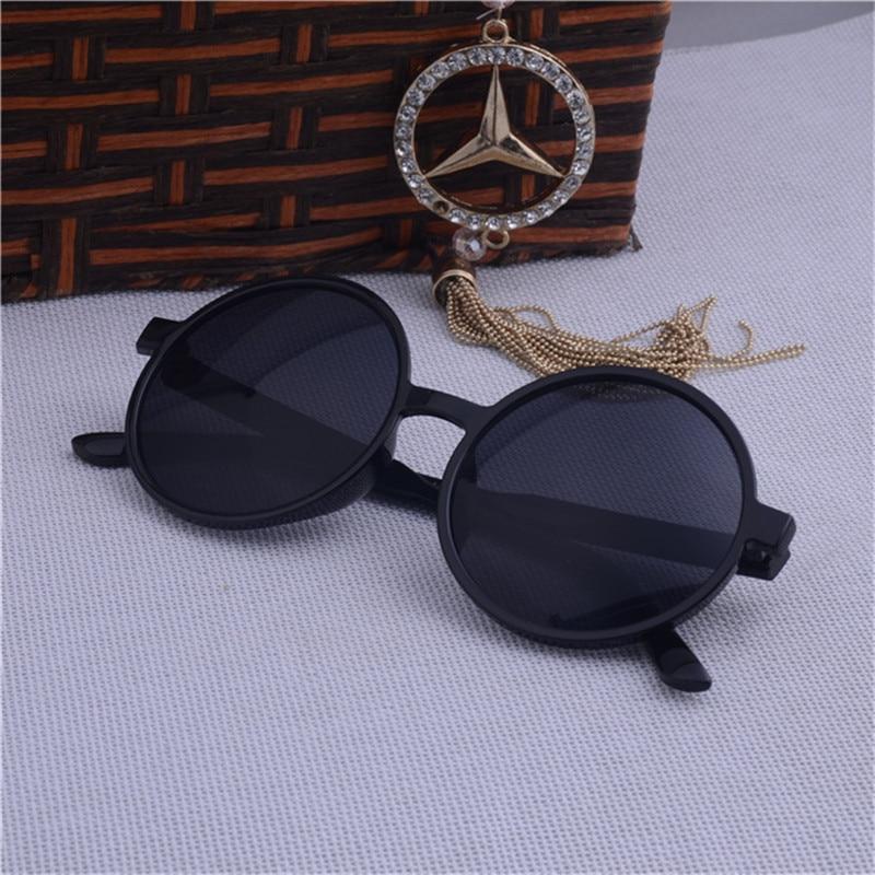 UCOOL New Hot Vintage Round Lens Solbriller Menn Klassisk Gafas - Klær tilbehør