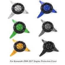 Для kawasaki z900 2017 Защитная крышка двигателя мотоцикла из