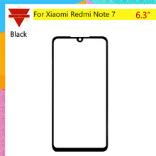 "10pcs\lot Original TouchScreen 6.3"" For Xiaomi Redmi Note 7 Touch Screen Sensor LCD Display Digitizer Front Outer Glass(China)"