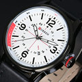 New CURREN Luxury Brand Fashion Men Military Sports Watches Men's Quartz Auto Date Clock Man Leather Strap Casual Wrist Watch
