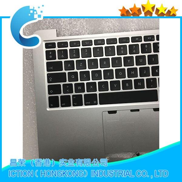D'origine A1502 Pour Macbook Pro 13 A1502 Topcase Avec le Clavier Supérieur Top Case FR Mise Français Fin 2013 À Mi 2014 661-8154