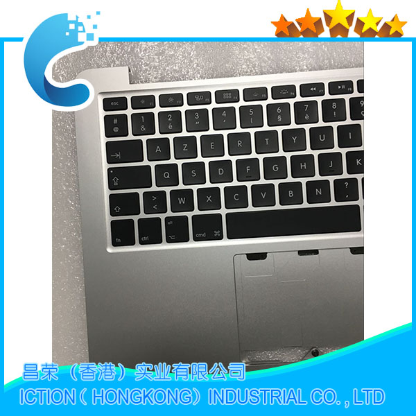 Original A1502 For Macbook Pro 13 A1502 Topcase With Keyboard Upper Top Case FR French Layout Late 2013 Mid 2014 661-8154 часы швейная машинка настольные 23 10 20см уп 1 18шт