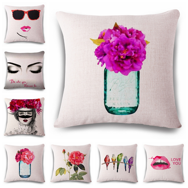 Pink Car Seats Decorative Spring Throw Pillow Covers Modern Home ...