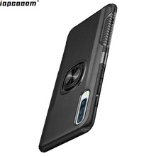 For Samsung Galaxy A50 Case Ring Magnetism Stand Shockproof Car stand Armor back cover Coque 6.1 Inch