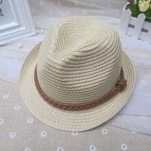 1 Pcs 2016 New Korean Belt Children Fedoras Hats Spring Summer Bucket Hat For Girl Jazz Caps 51-52cm 8 Colors