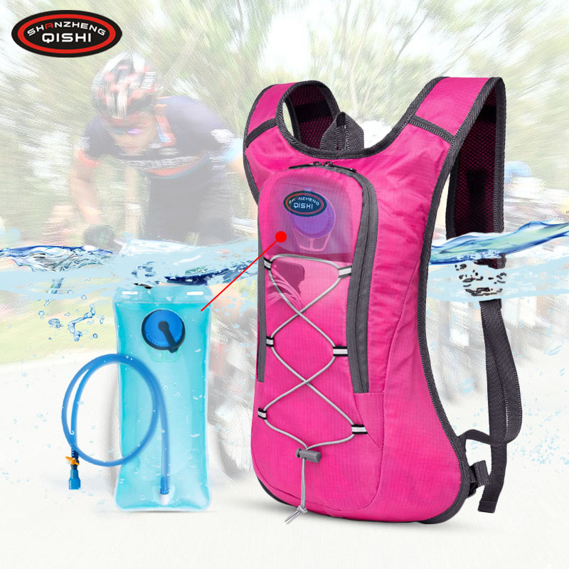 Outdoor 5L Hydration Running Backpack Men Women Jogging Sport Backpack Waterproof Trail Running Marathon Bag With 2L Water Bag