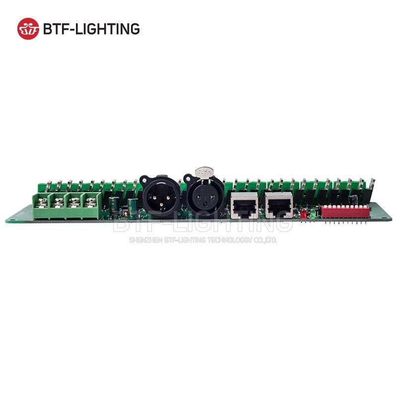 30 canal DMX 512 rgb LED bande contrôleur dmx décodeur pilote gradateur DC9V-24V - 4