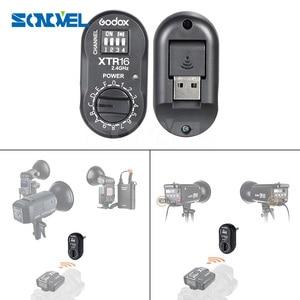 Image 1 - Godox XTR 16 Flash Ricevitore 2.4G Wireless X sistema per X1C X1N XT 16 Trasmettitore Trigger Wistro AD360/DE/QT/DP/QS/GS/Serie GT