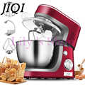 JIQI elektryczny szefa kuchni mieszania stojak maszyny żywności ciasto chleb ciasta mikser jaj jaj trzepak żywności użytku domowego commercal do pieczenia blender 3.5L