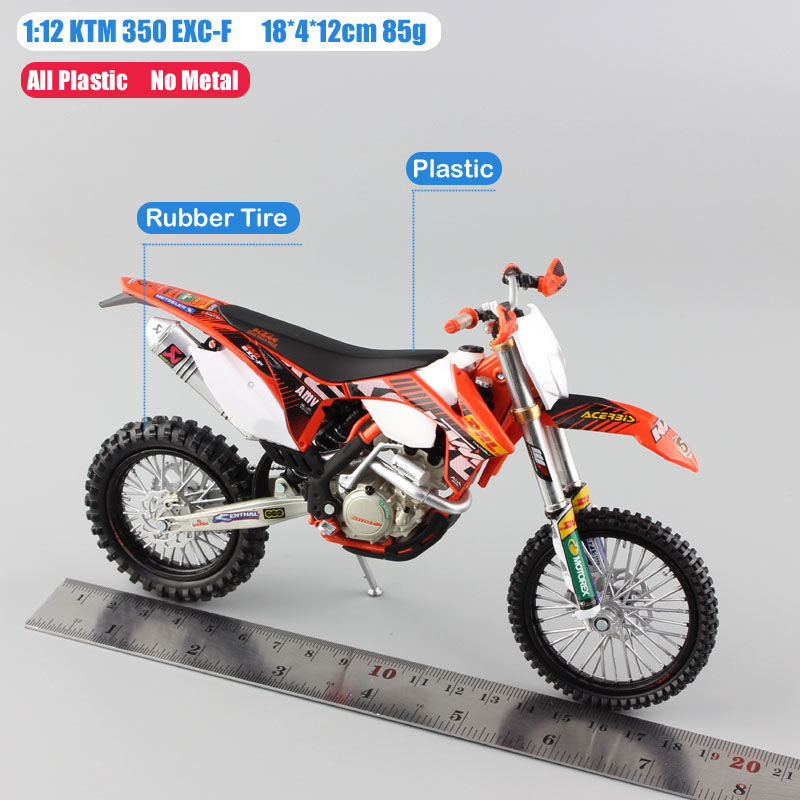Image 2 - 1 12 scale Automaxx mini KTM 350 EXC F AMV DHL Motorcycle Diecast Model Motocross enduro motor dirt bike toys vehicle car kid's-in Diecasts & Toy Vehicles from Toys & Hobbies