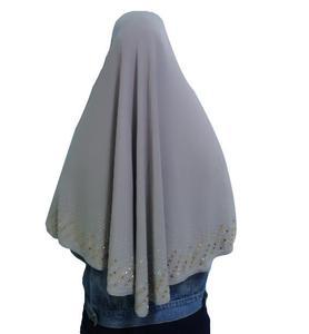 Image 3 - Nieuwe Moslim Vrouwen Amira Gebed Hoed Hijab Sjaal Headwrap Overhead Cover Khimar Islamitische Hoofddoek Volledige Cover Hijab Arabische Sjaal Nieuwe