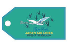 Japan Airlines Retro Luggage Bag Tag