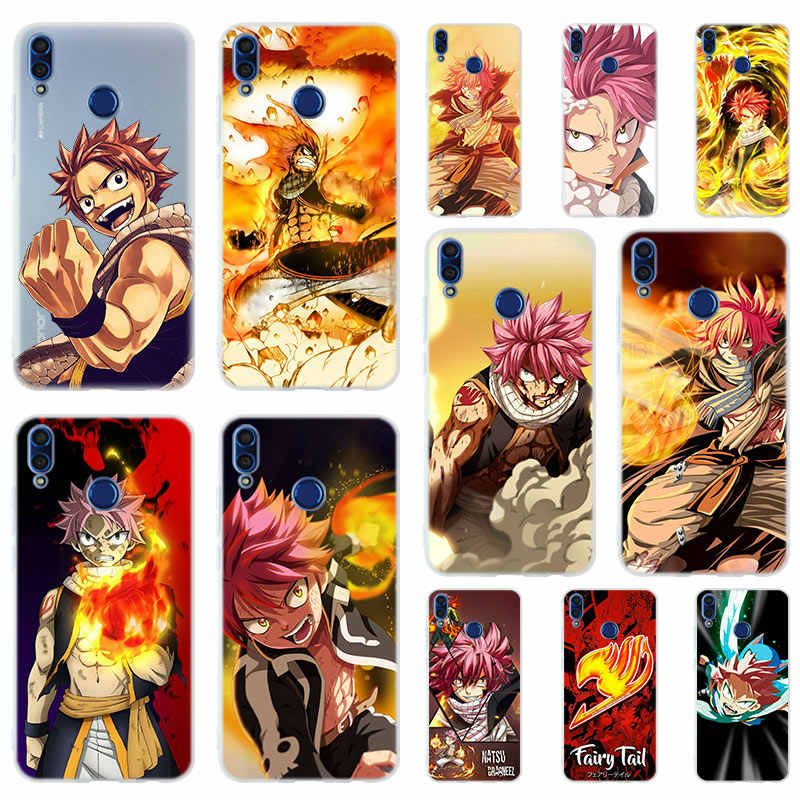 Anime Fairy Tail Soft Silicone Case Cover For Huawei Honor 9 10 Lite 6X 7X 8X Max Phone cases 7A 8A 8C V20 PLAY 10i