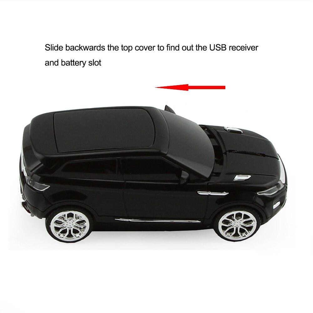 CHYI Wireless Optical Mouse Cool SUV Car Shaped - Համակարգչային արտաքին սարքեր - Լուսանկար 2